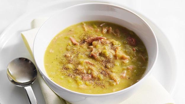 grašak juha od kaše u spor kuhalo