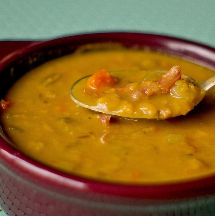 pire pileća juha s graškom