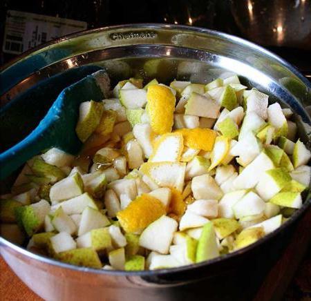 ricetta per marmellata di pere al limone
