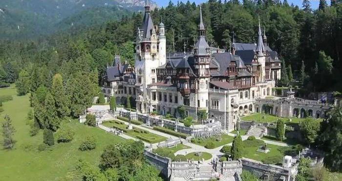 Fotografija dvorca Peles