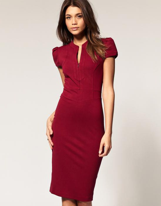 Modna sukienka ołówkowa