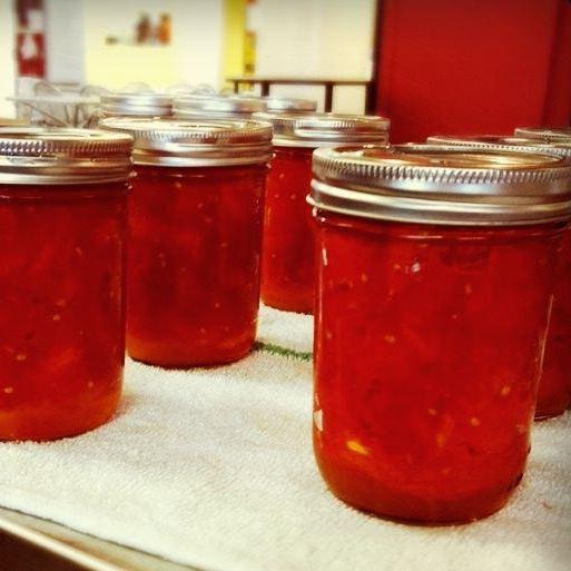 пипер в доматен сос за зимни рецепти