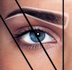 идеална снимка на веждите