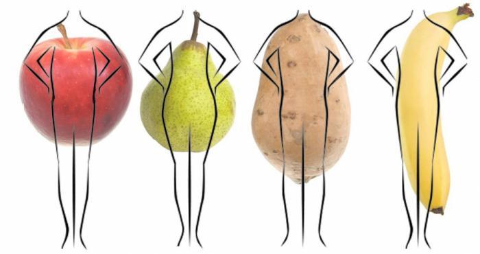 perfektní proporce ženského těla