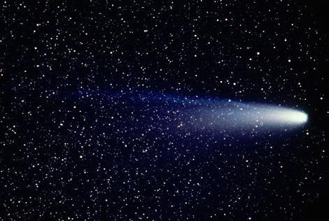 комета на Холи 2012