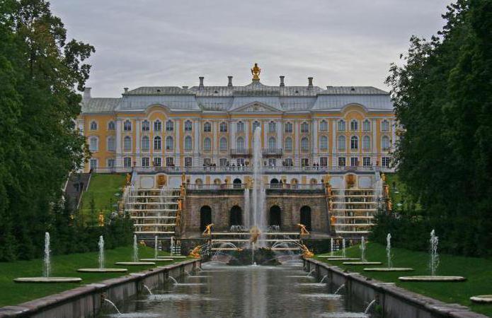 način rada parka u Peterhofu