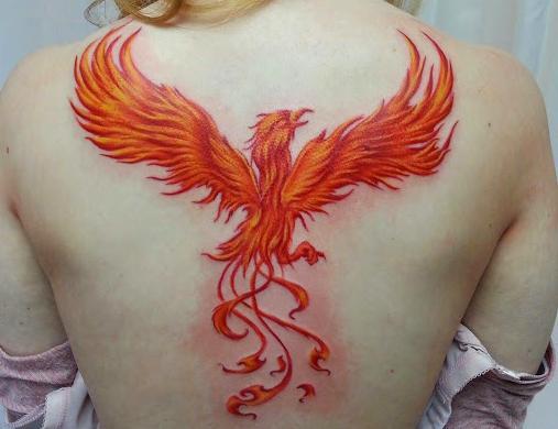 Phoenix tetování význam