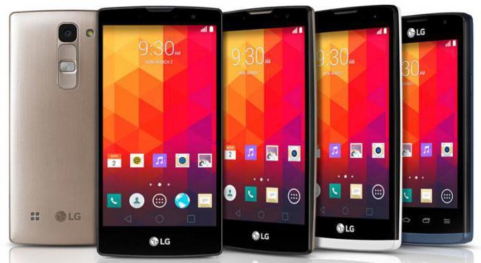 caratteristiche dello smartphone lg leon