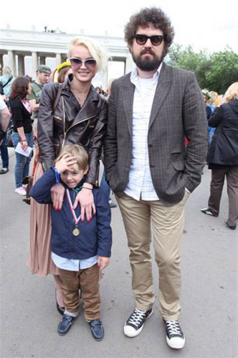 Dmitry Ishakov foto con sua moglie e figli