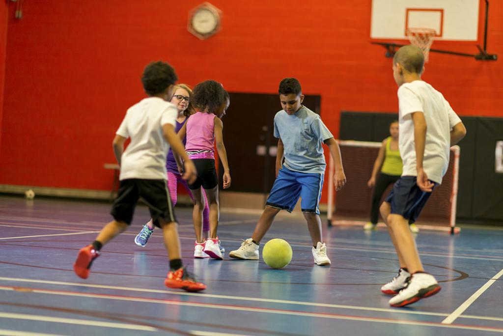 Riassunto delle lezioni di educazione fisica nel 2 gruppo più giovane