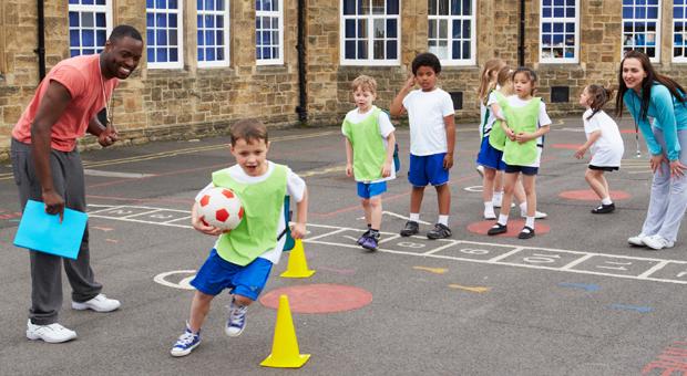 Come sono le lezioni di educazione fisica in età prescolare