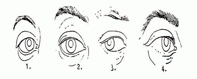 цвят на физиономията на очите