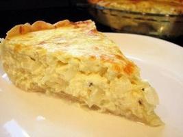 ricetta della torta di cipolla