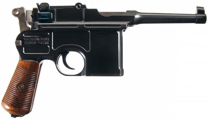 Pištola kalibra Mauser