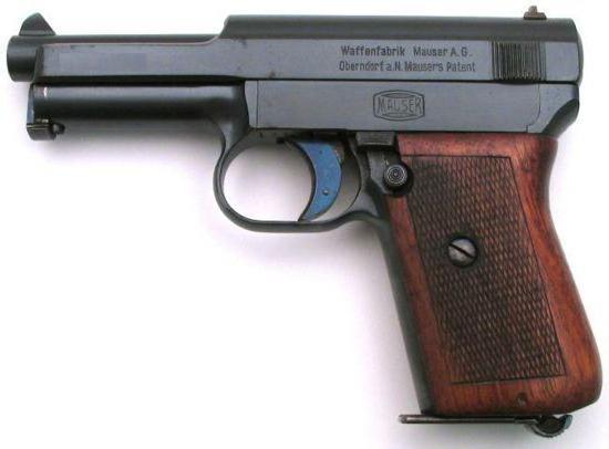 Mauserjeva pištola 1914