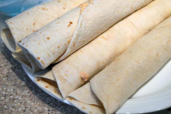 Lavash snack recepti s fotografijama