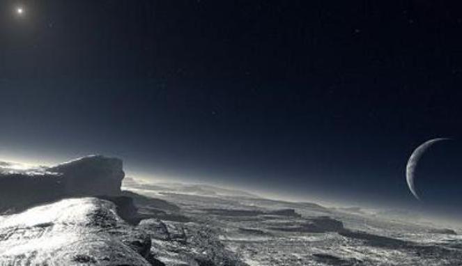 foto del pianeta Plutone