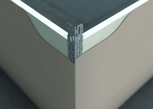 пластмасов ъгъл
