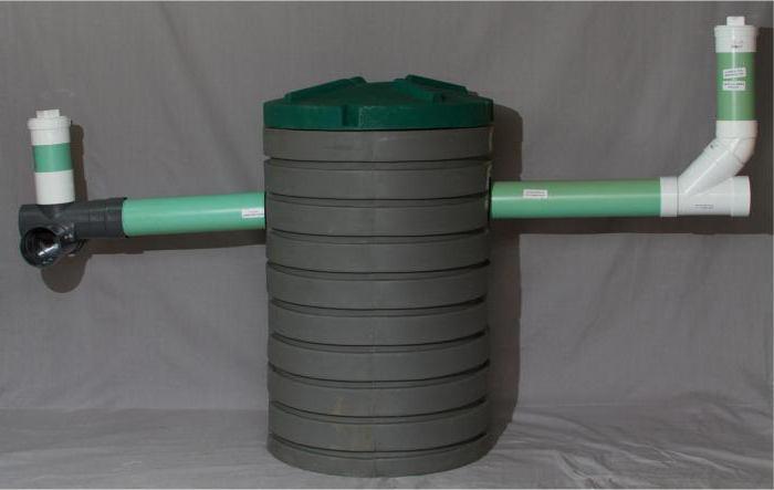 plastikowy zbiornik septyczny
