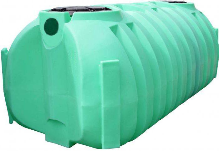 beczka na plastikowy zbiornik septyczny