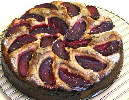 torta di prugne