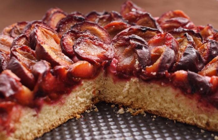 ricetta della torta di prugne