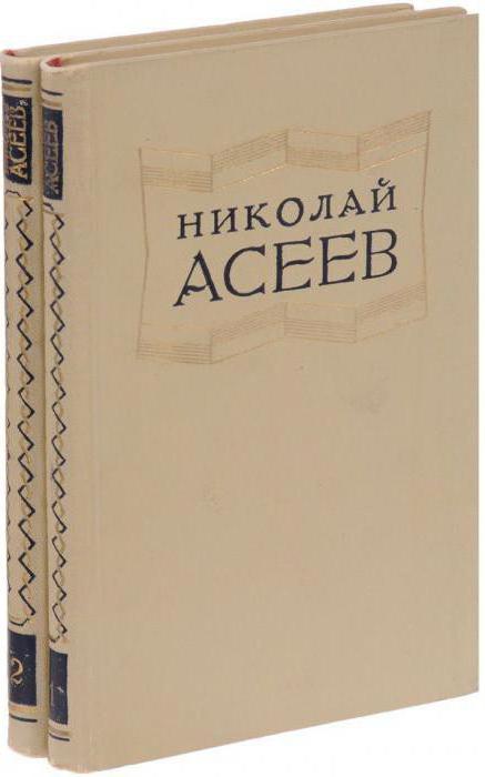 Биография на Николай Асеев