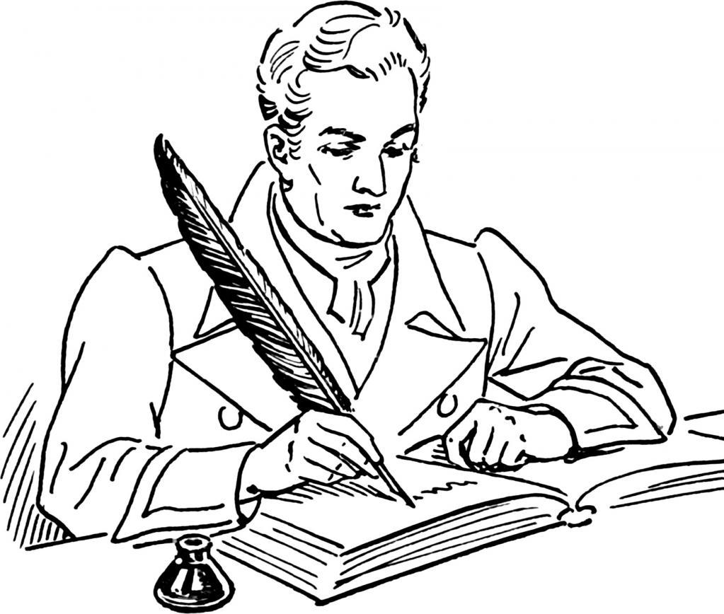 Risba pesnika