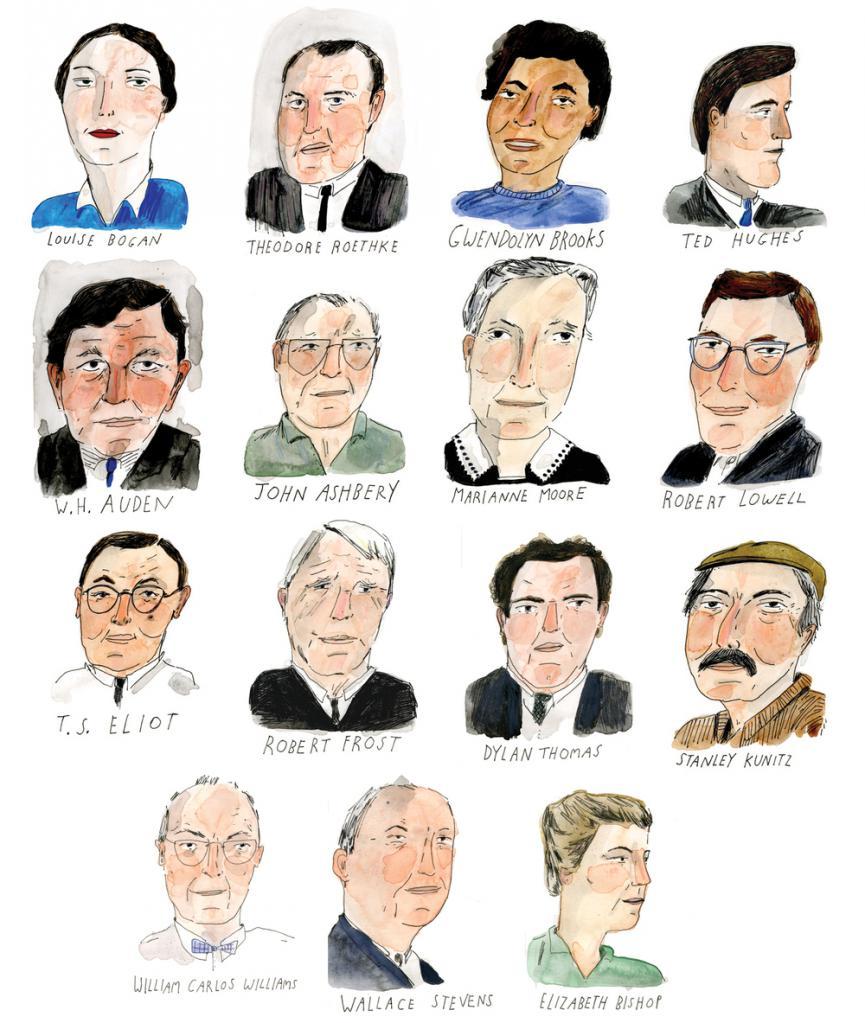 Portreti slavnih pesnikov
