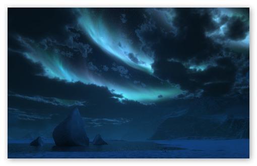 polarnu noć u Murmansku