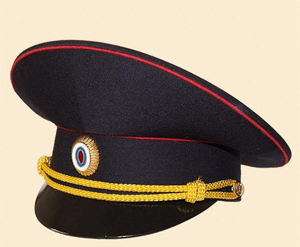 come cucire un berretto da polizia per un bambino