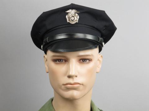 modello di cappuccio della polizia