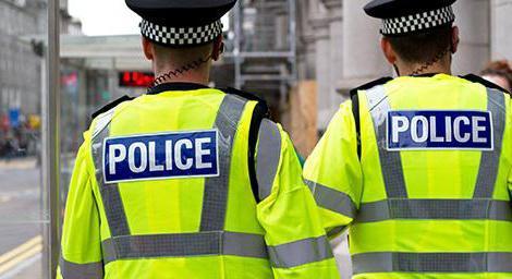 foto della polizia di professione