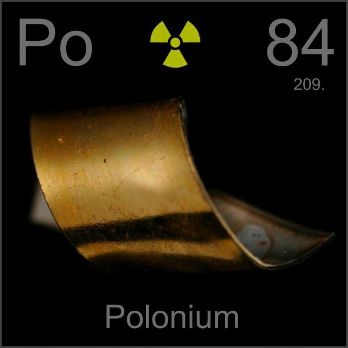 polonium 210