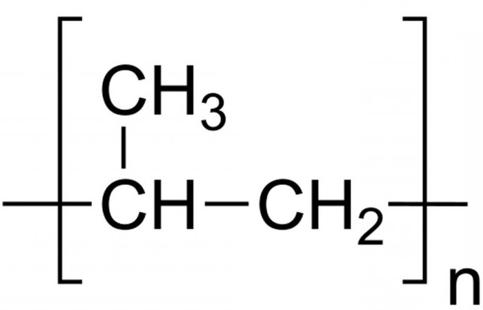 formula di polipropilene