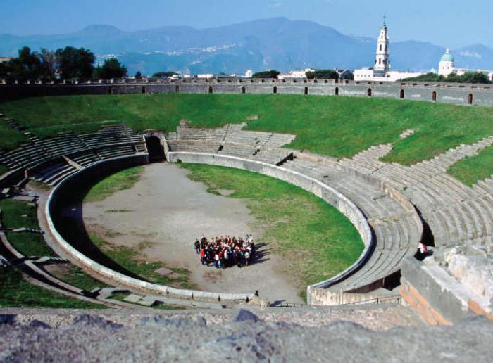 Историята на Помпей накратко