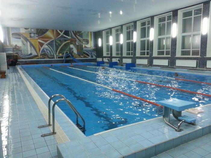 Programma della piscina di Novosibirsk