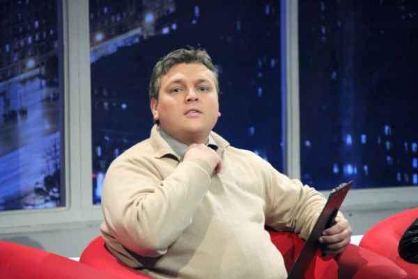 Dmitry Kumulov prezenter telewizyjny