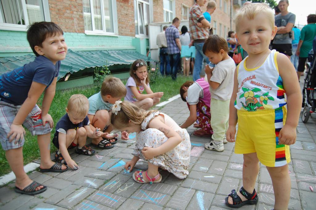 Bambini nella regione di Belgorod