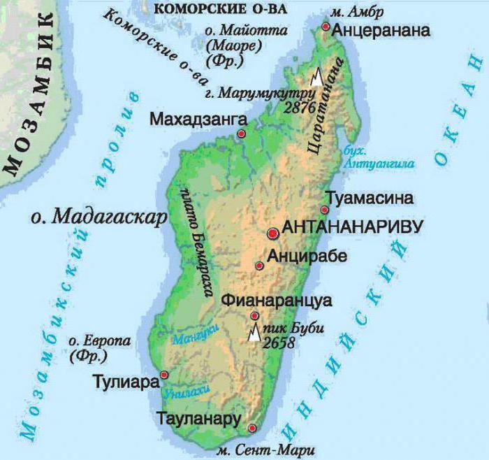 Popolazione del Madagascar