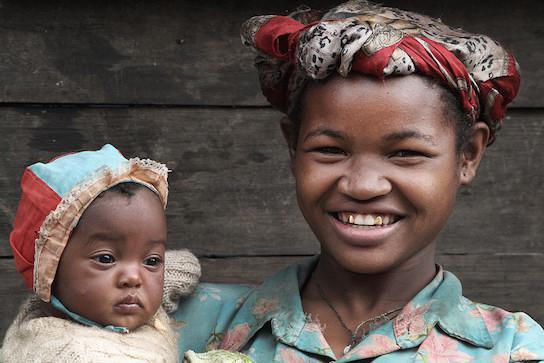 Densità di popolazione del Madagascar