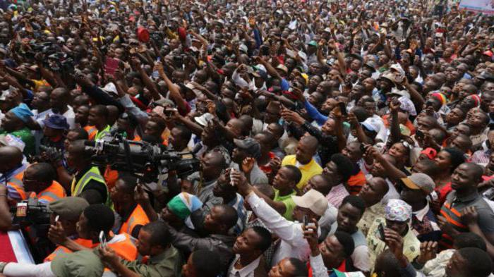 Populacija nigerij države