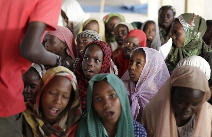 Sestava prebivalstva Nigerije