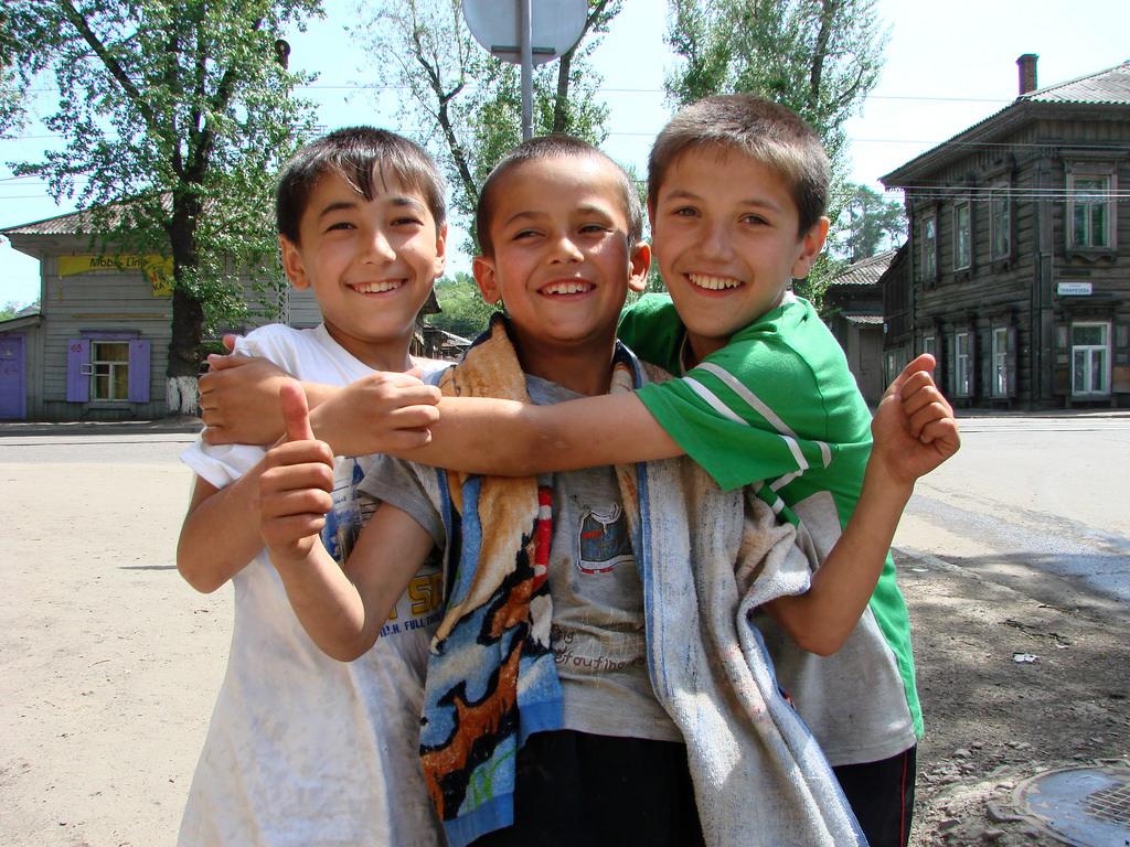 Деца Иркутск региона