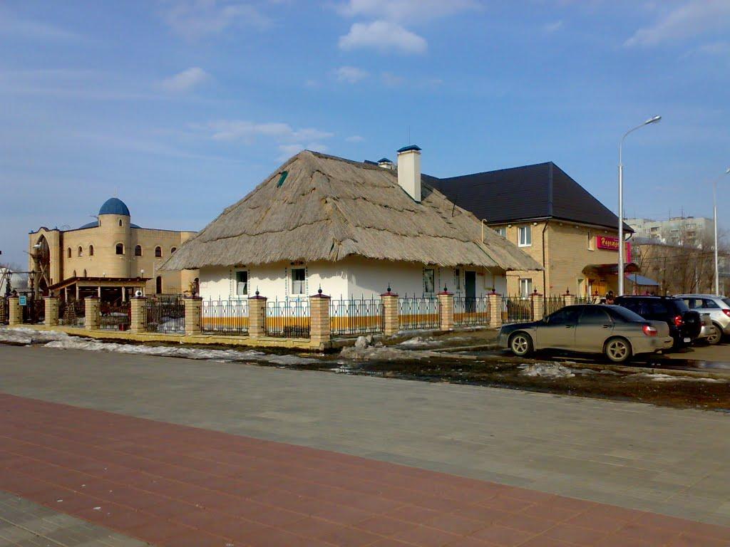 Villaggio nella regione di Orenburg