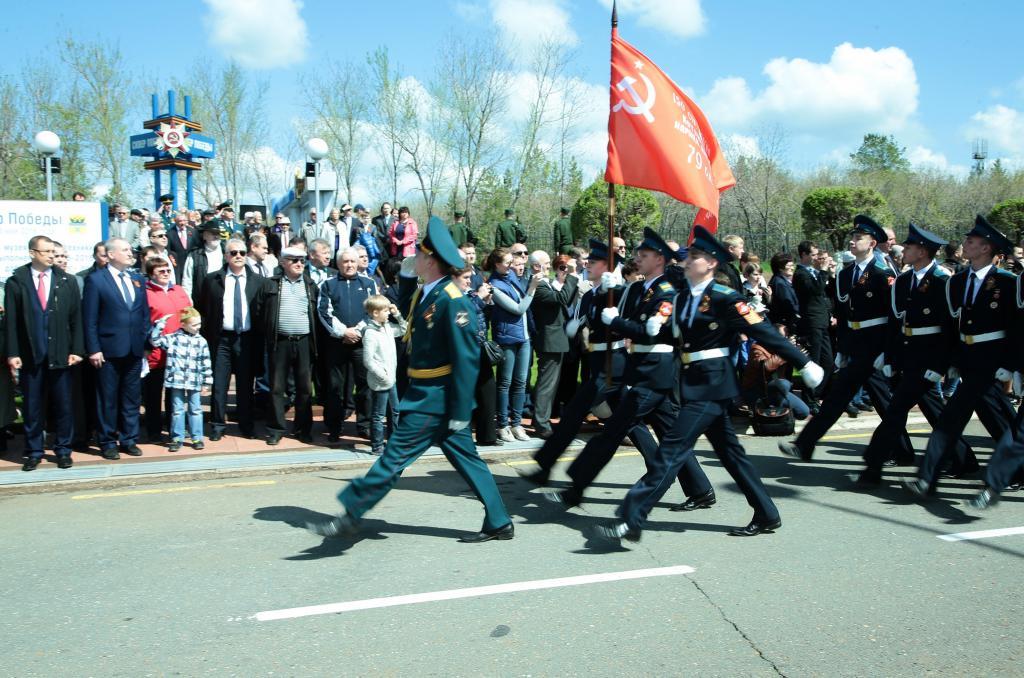 Sfilata nella regione di Orenburg