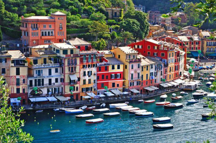 portofino itálie