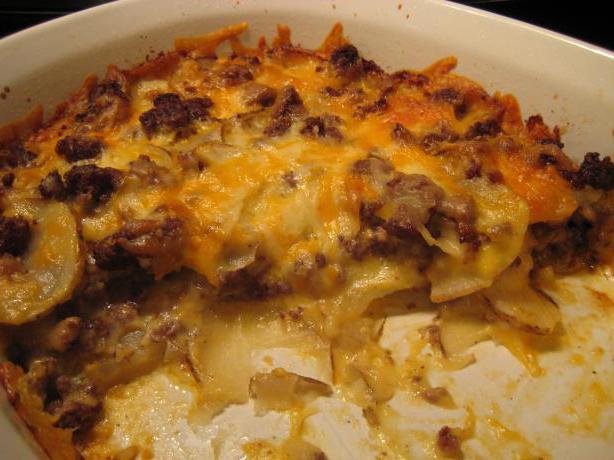 ricetta per la casseruola di patate in forno