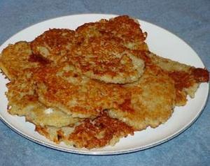 palačinke od krumpira s gljivama