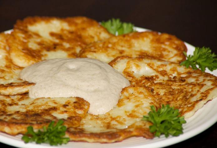рецепта за картофено палачинки